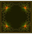 Decorative ornamental luxury frame vector image vector image