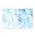 marble abstract background liquid marble vector image vector image