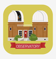 Observatory vector image vector image