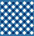 pastel blue color square check pattern vector image vector image