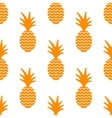 Pineapple simple vetor seamless background vector image vector image