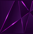 premium background with luxury polygonal pattern vector image vector image