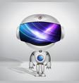 robot super Bill vector image
