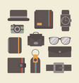 455retro gadget set vector image
