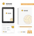 basketball business logo tab app diary pvc vector image vector image