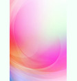 curved abstract on colorful background vector image vector image