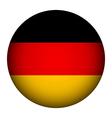 German flag button vector image