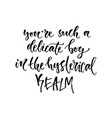 hand drawn calligraphy inspirational phrase vector image vector image