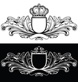 One Color King Design vector image vector image