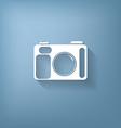 photo camera vector image vector image