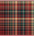 tartan plaid pattern seamless print fabric vector image vector image