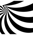 Spiral abstract background dynamic art vector image