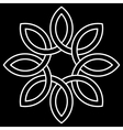 6-point Celtic knot vector image vector image