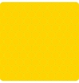 Background yellow cell vector image