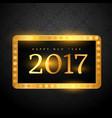 luxury premium style 2017 happy new year vector image vector image