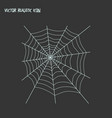 spiders web icon line element vector image