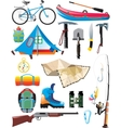 traveler set vector image