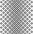 Monochrome repeating geometric pattern vector image vector image