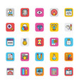 web design and development icons 2 vector image vector image