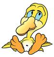 Yellow Duckling vector image vector image
