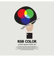 RGB Color Palette vector image