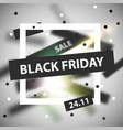 black friday modern abstract background sale vector image vector image