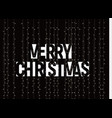 Merry christmas banner white text