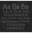 Russian alphabet vector image