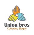 Union Bros Design vector image vector image