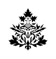 Vintage damask ornament background vector image vector image
