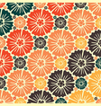 Abstract seamless pattern - art nouveau vector image