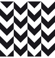 big chevron background black white vector image vector image