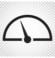 dashboard icon level meter speed simple business vector image