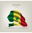 flag senegal as country vector image