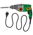 Green impact drill vector image vector image