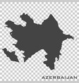 icon map azerbaijan on transparent background vector image vector image