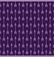 seamless cute pattern of arrows colored vector image