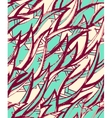 seamless hand-drawn pattern vector image vector image