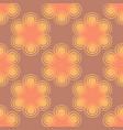 seamless spiral flower pink pattern vector image