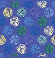 textured polka dots seamless pattern vector image
