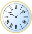 Watch roman numeral vector image