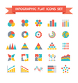 Icons Set of Infographic Concept vector image