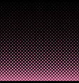 abstract halftone pattern design background vector image vector image
