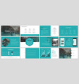 elements for and presentation templates vector image vector image