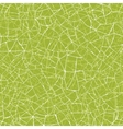 Green mosaic texture seamless pattern background vector image vector image