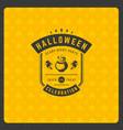 halloween celebration vector image vector image