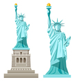 Statue of liberty of america vector image vector image
