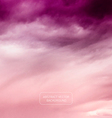 Violet Sky - Abstract Nature Background vector image vector image