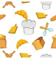 Cakes pattern cartoon style vector image vector image