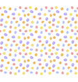 colorful dot pattern red blue yellow vector image